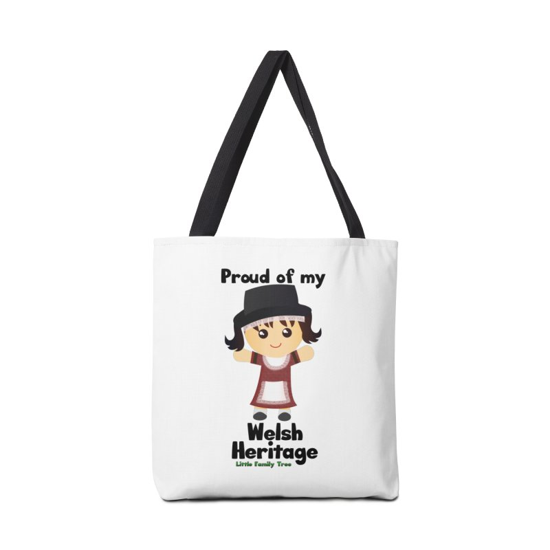 Welsh Heritage Girl Accessories Bag by Yellow Fork Tech's Shop