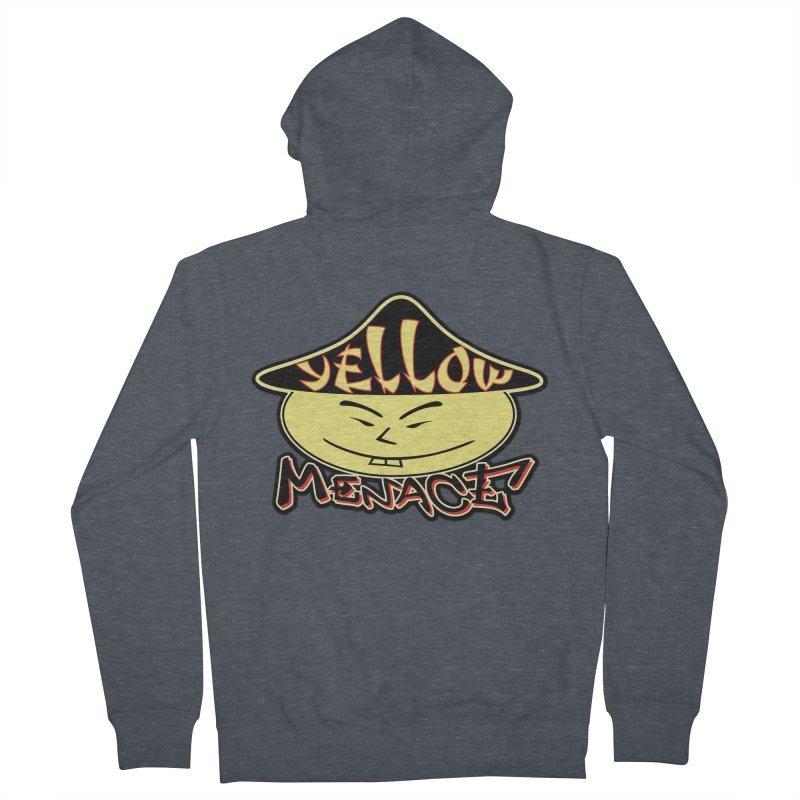 YellowMenace Logo 2017 Women's French Terry Zip-Up Hoody by YellowMenace Shop