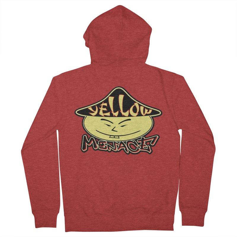 YellowMenace Logo 2017 Men's French Terry Zip-Up Hoody by YellowMenace Shop