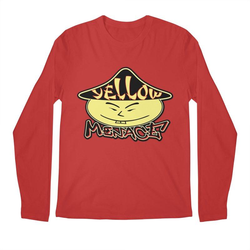 YellowMenace Logo 2017 Men's Regular Longsleeve T-Shirt by YellowMenace Shop