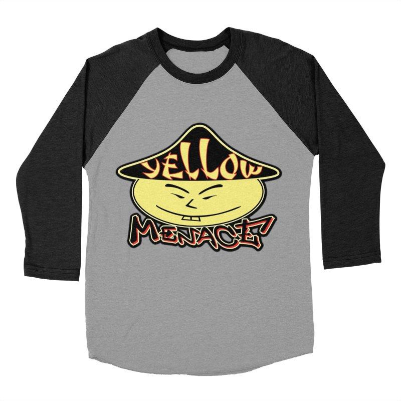 YellowMenace Logo 2017 Men's Baseball Triblend Longsleeve T-Shirt by YellowMenace Shop