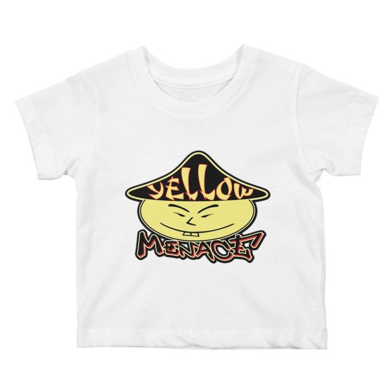 YellowMenace Logo 2017 Kids Baby T-Shirt by YellowMenace Shop
