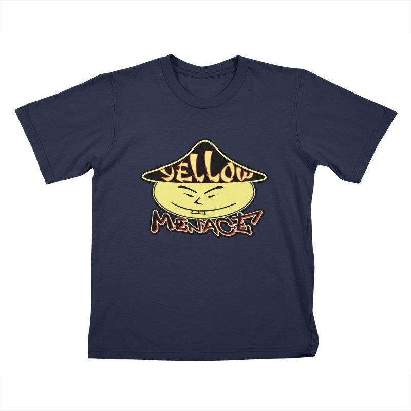YellowMenace Logo 2017 Kids T-Shirt by YellowMenace Shop