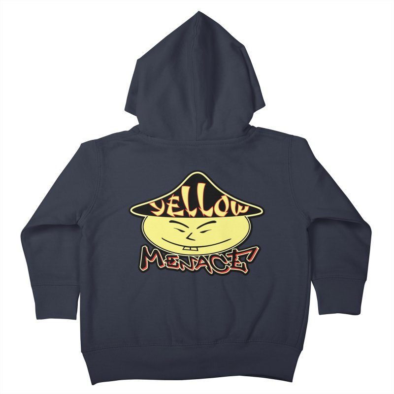YellowMenace Logo 2017 Kids Toddler Zip-Up Hoody by YellowMenace Shop