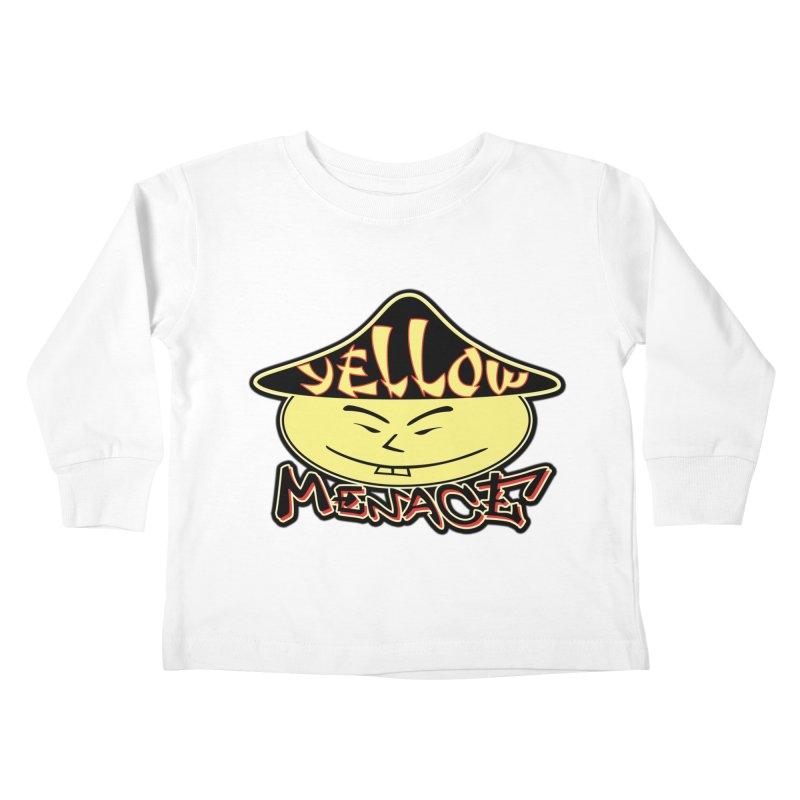 YellowMenace Logo 2017 Kids Toddler Longsleeve T-Shirt by YellowMenace Shop