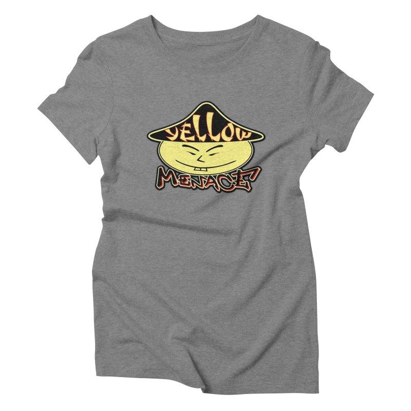 YellowMenace Logo 2017 Women's Triblend T-Shirt by YellowMenace Shop