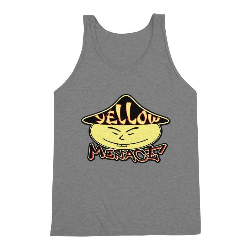 YellowMenace Logo 2017 Men's Triblend Tank by YellowMenace Shop