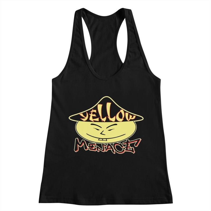 YellowMenace Logo 2017 Women's Racerback Tank by YellowMenace Shop
