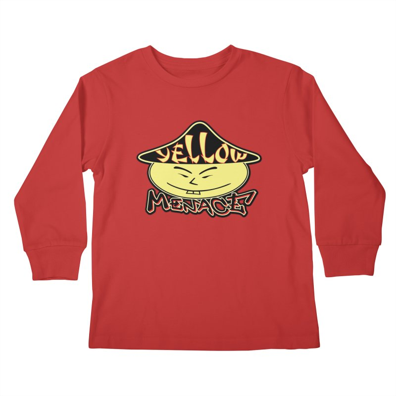 YellowMenace Logo 2017 Kids Longsleeve T-Shirt by YellowMenace Shop