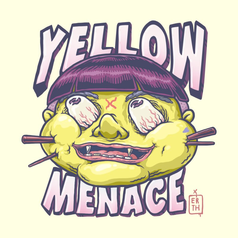 YellowMenace x ERTH Men's T-Shirt by YellowMenace Shop