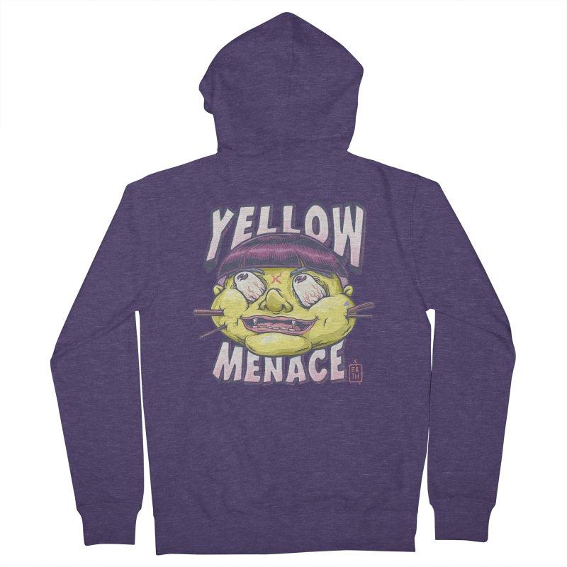 YellowMenace x ERTH Men's French Terry Zip-Up Hoody by YellowMenace Shop