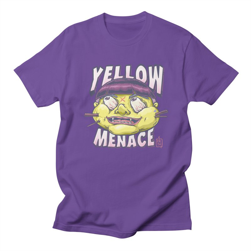 YellowMenace x ERTH Men's Regular T-Shirt by YellowMenace Shop