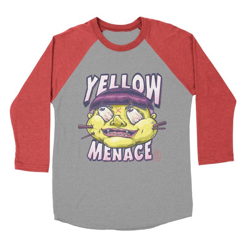 YellowMenace x ERTH Women's Baseball Triblend Longsleeve T-Shirt by YellowMenace Shop