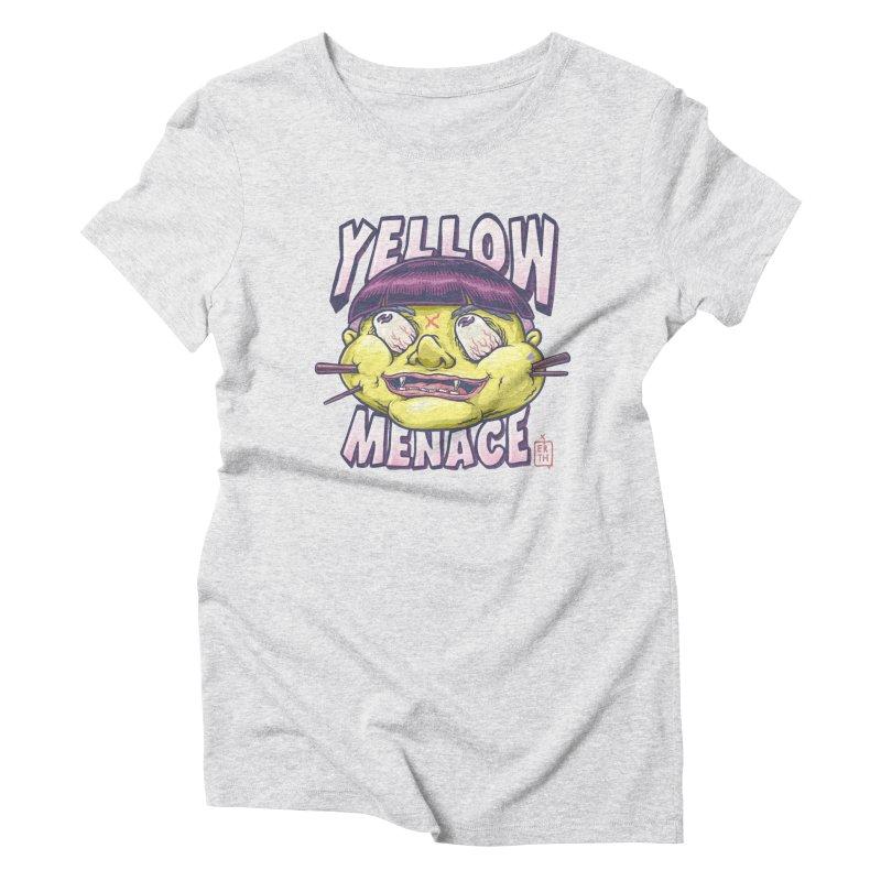YellowMenace x ERTH Women's Triblend T-Shirt by YellowMenace Shop