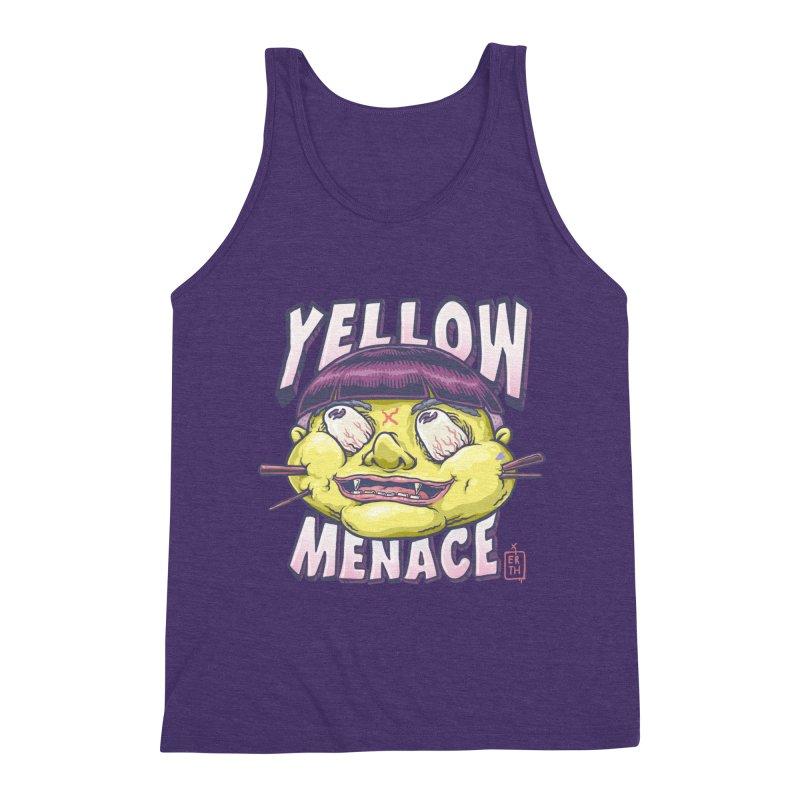 YellowMenace x ERTH Men's Triblend Tank by YellowMenace Shop