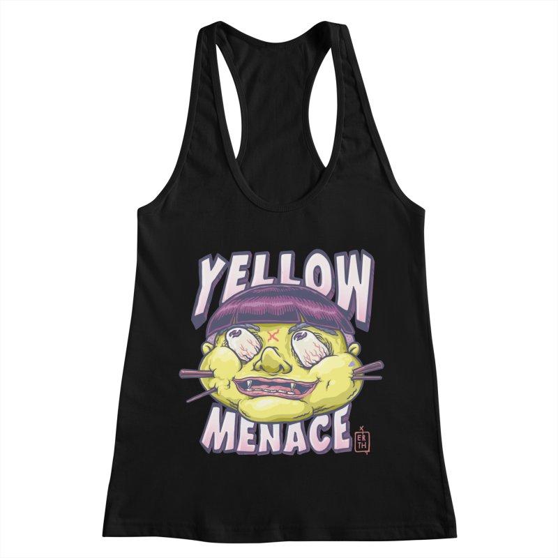 YellowMenace x ERTH Women's Racerback Tank by YellowMenace Shop