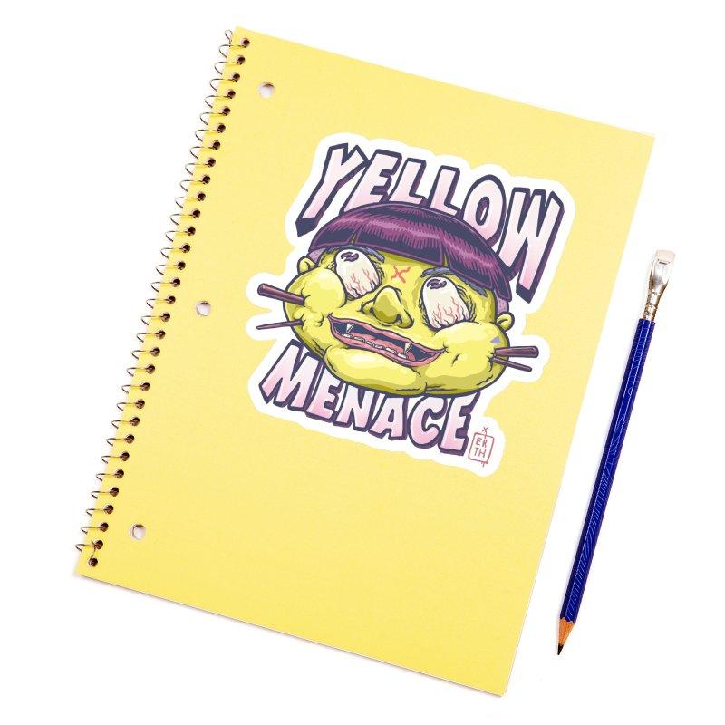 YellowMenace x ERTH Accessories Sticker by YellowMenace Shop