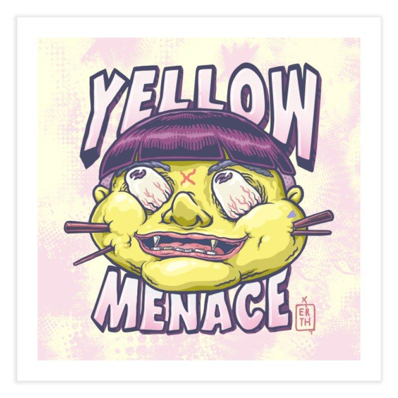 YellowMenace x ERTH Home Fine Art Print by YellowMenace Shop
