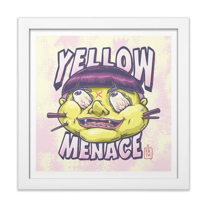 YellowMenace x ERTH Home Framed Fine Art Print by YellowMenace Shop
