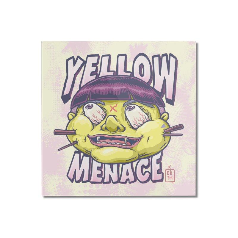YellowMenace x ERTH Home Mounted Acrylic Print by YellowMenace Shop