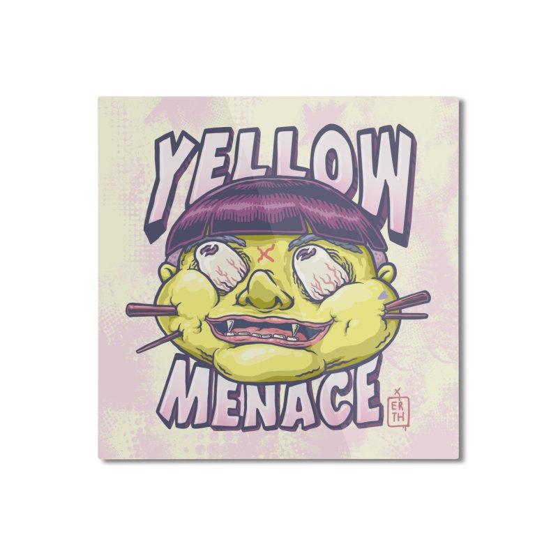 YellowMenace x ERTH Home Mounted Aluminum Print by YellowMenace Shop
