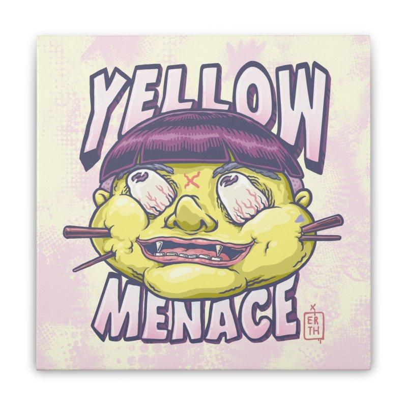 YellowMenace x ERTH Home Stretched Canvas by YellowMenace Shop