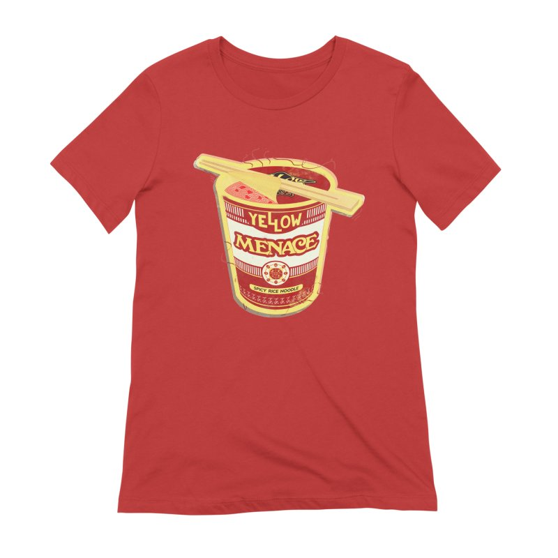 YM Cup Noodles: Campbells Women's Extra Soft T-Shirt by YellowMenace Shop
