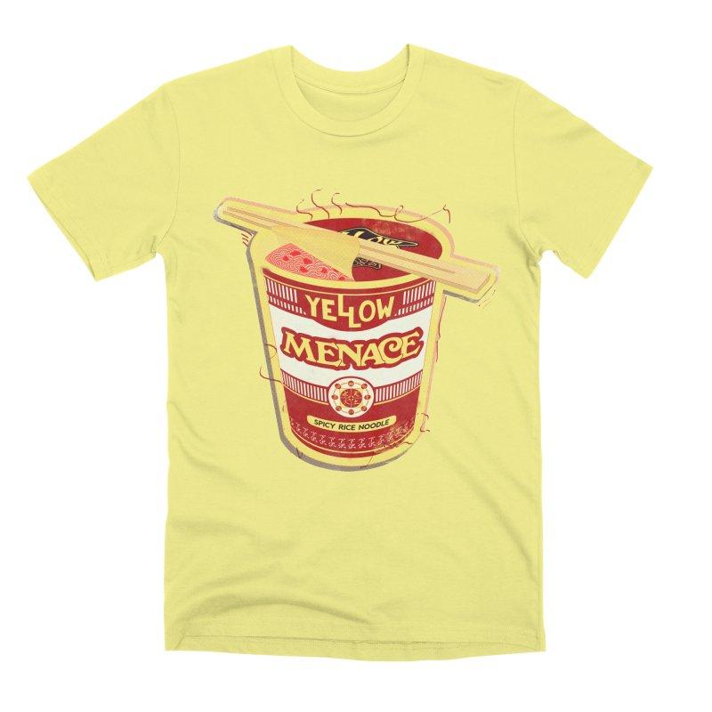YM Cup Noodles: Campbells Men's Premium T-Shirt by YellowMenace Shop