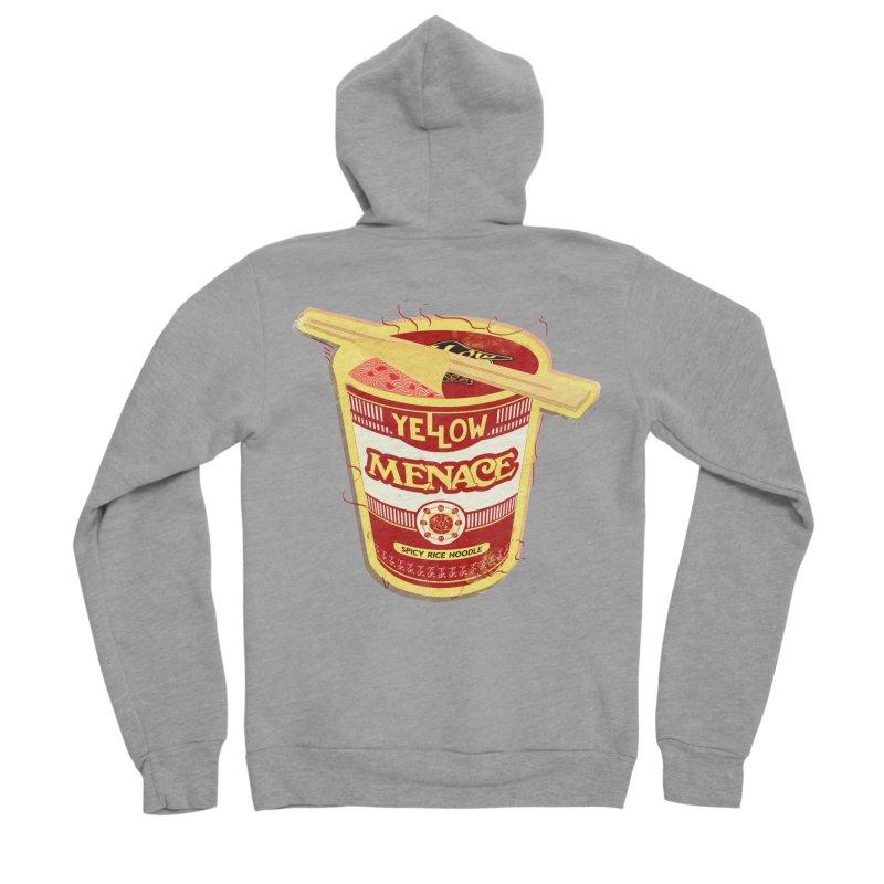 YM Cup Noodles: Campbells Men's Sponge Fleece Zip-Up Hoody by YellowMenace Shop