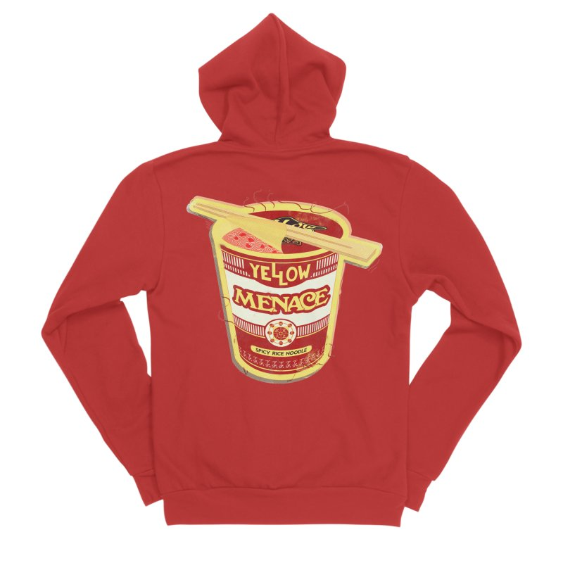 YM Cup Noodles: Campbells Men's Zip-Up Hoody by YellowMenace Shop