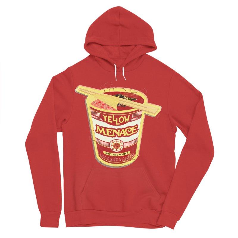 YM Cup Noodles: Campbells Women's Sponge Fleece Pullover Hoody by YellowMenace Shop