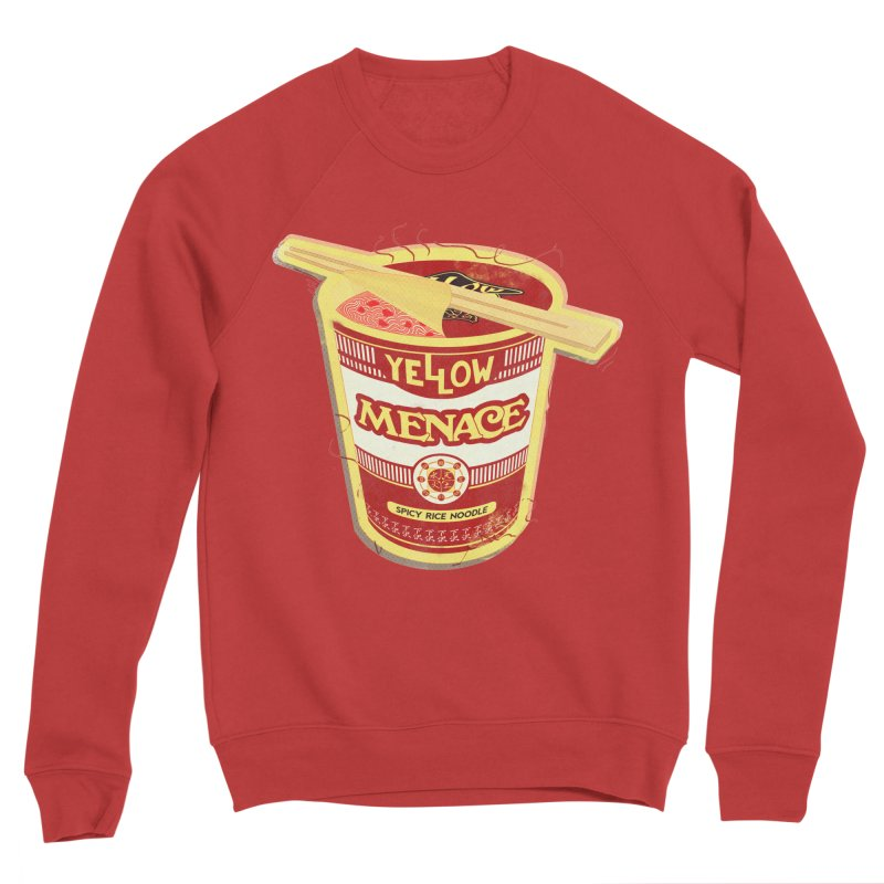 YM Cup Noodles: Campbells Men's Sweatshirt by YellowMenace Shop