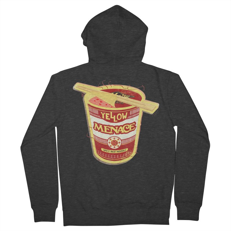YM Cup Noodles: Campbells Men's French Terry Zip-Up Hoody by YellowMenace Shop