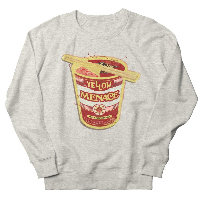 YM Cup Noodles: Campbells Men's French Terry Sweatshirt by YellowMenace Shop