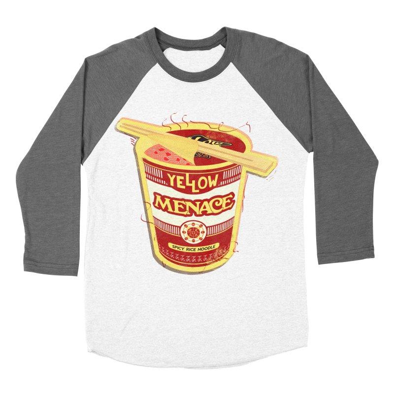 YM Cup Noodles: Campbells Women's Baseball Triblend Longsleeve T-Shirt by YellowMenace Shop