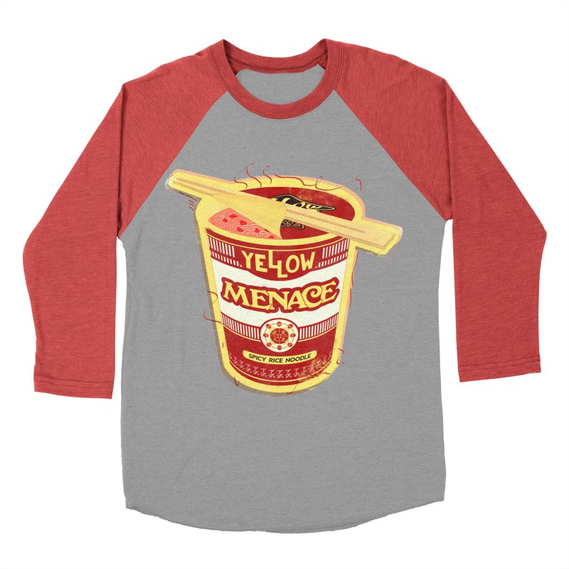 YM Cup Noodles: Campbells Men's Baseball Triblend Longsleeve T-Shirt by YellowMenace Shop