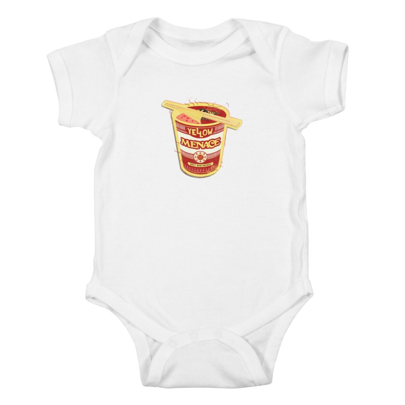 YM Cup Noodles: Campbells Kids Baby Bodysuit by YellowMenace Shop