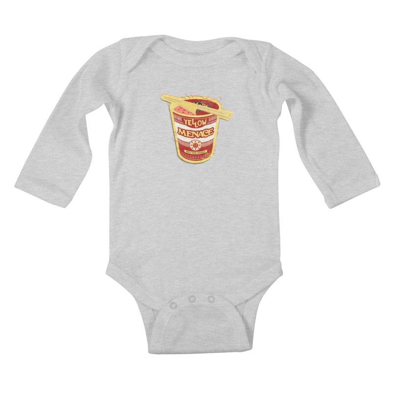 YM Cup Noodles: Campbells Kids Baby Longsleeve Bodysuit by YellowMenace Shop
