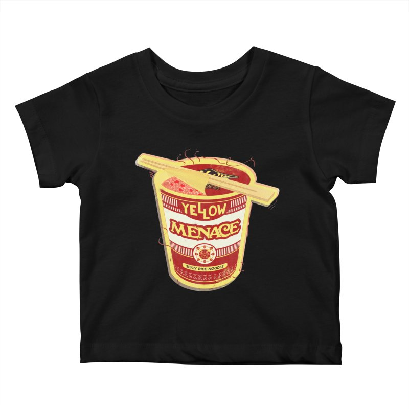 YM Cup Noodles: Campbells Kids Baby T-Shirt by YellowMenace Shop