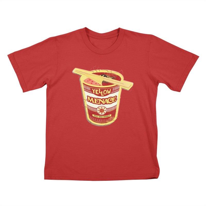 YM Cup Noodles: Campbells Kids T-Shirt by YellowMenace Shop