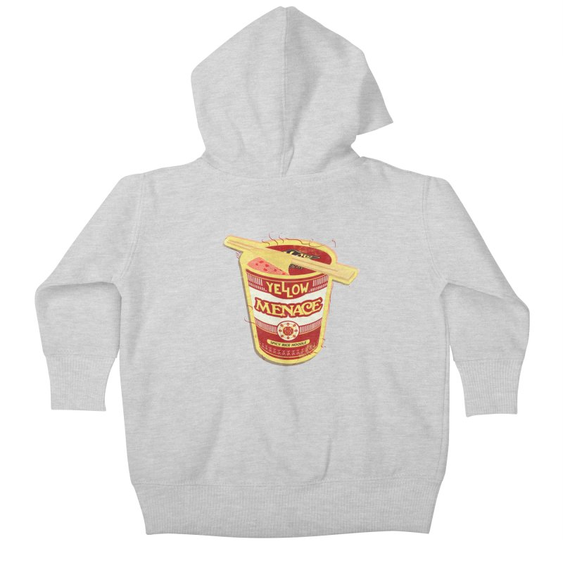 YM Cup Noodles: Campbells Kids Baby Zip-Up Hoody by YellowMenace Shop