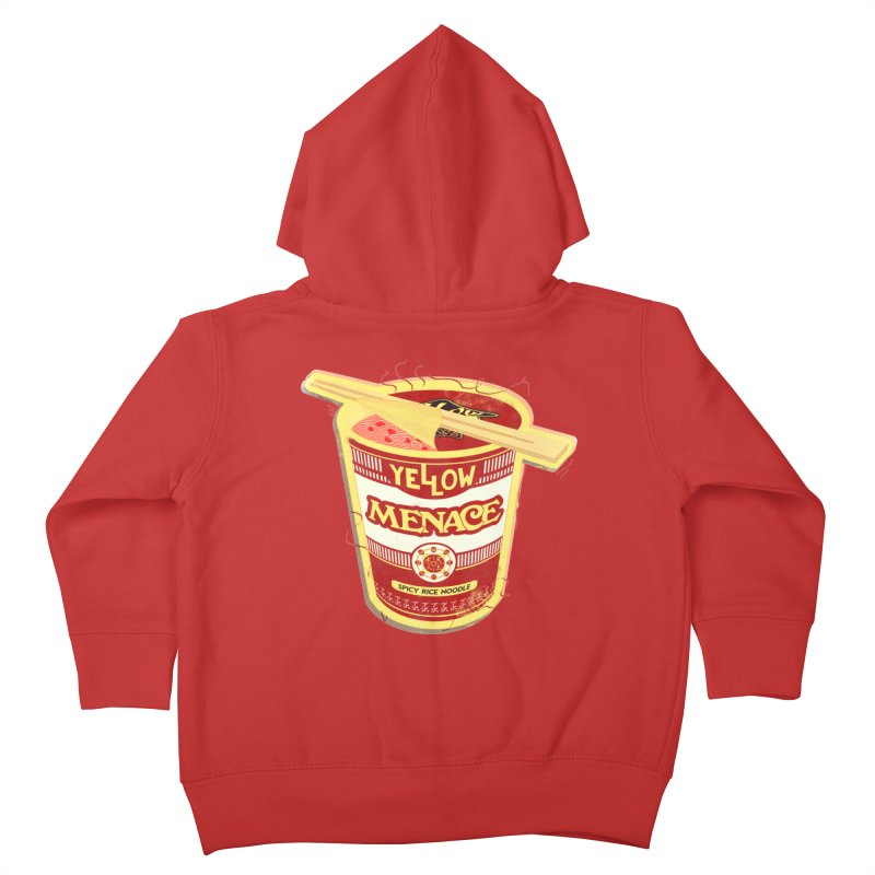 YM Cup Noodles: Campbells Kids Toddler Zip-Up Hoody by YellowMenace Shop