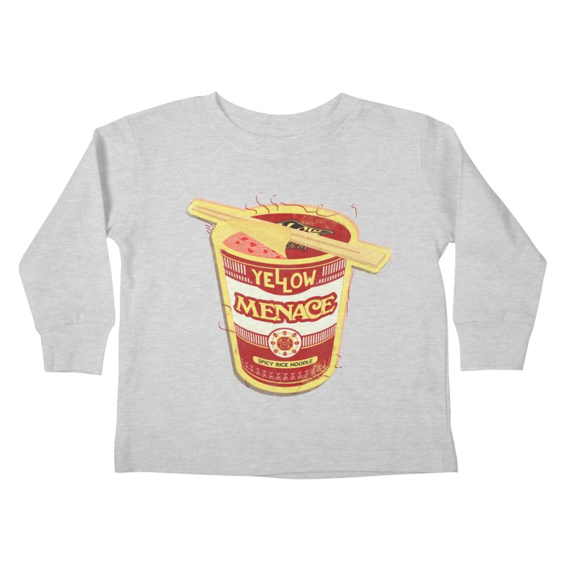 YM Cup Noodles: Campbells Kids Toddler Longsleeve T-Shirt by YellowMenace Shop