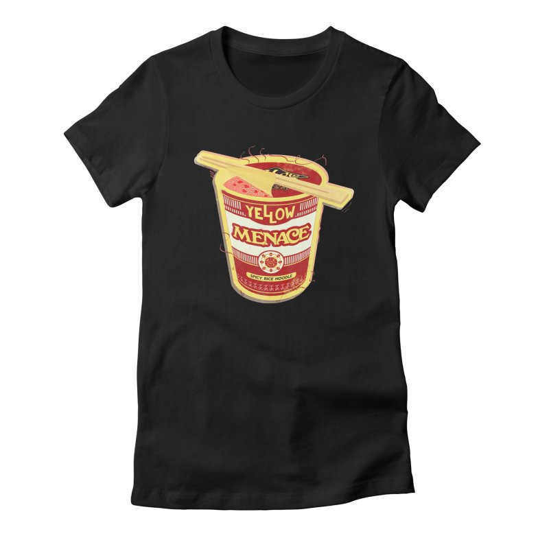 YM Cup Noodles: Campbells Women's Fitted T-Shirt by YellowMenace Shop