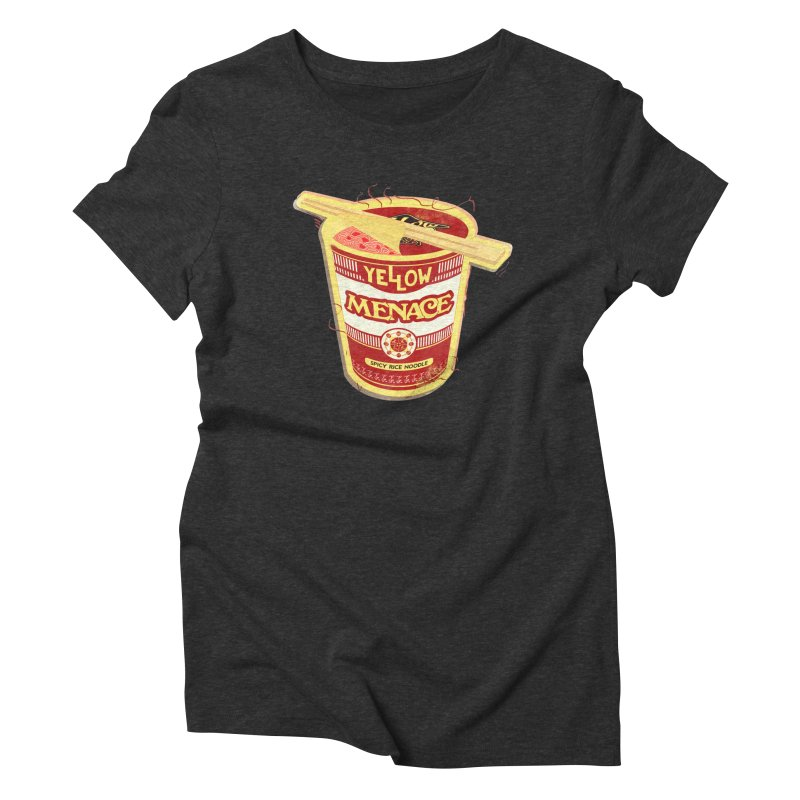 YM Cup Noodles: Campbells Women's Triblend T-Shirt by YellowMenace Shop