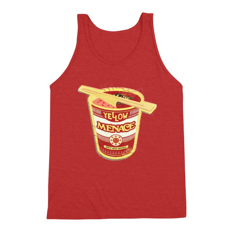 YM Cup Noodles: Campbells Men's Triblend Tank by YellowMenace Shop