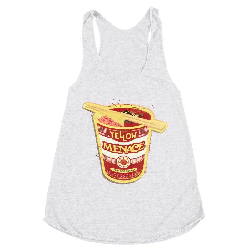 YM Cup Noodles: Campbells Women's Racerback Triblend Tank by YellowMenace Shop