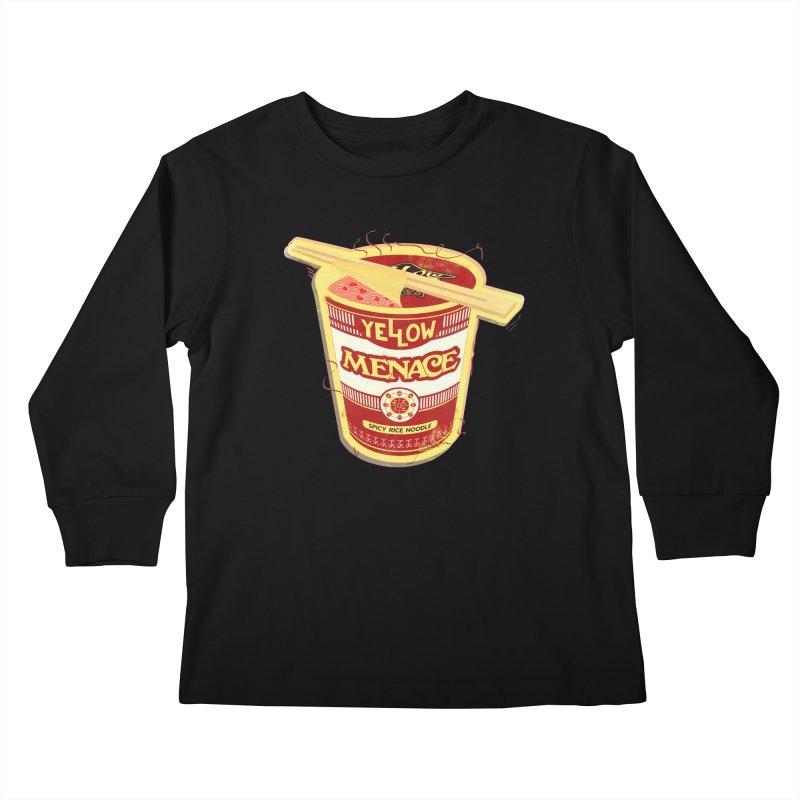 YM Cup Noodles: Campbells Kids Longsleeve T-Shirt by YellowMenace Shop