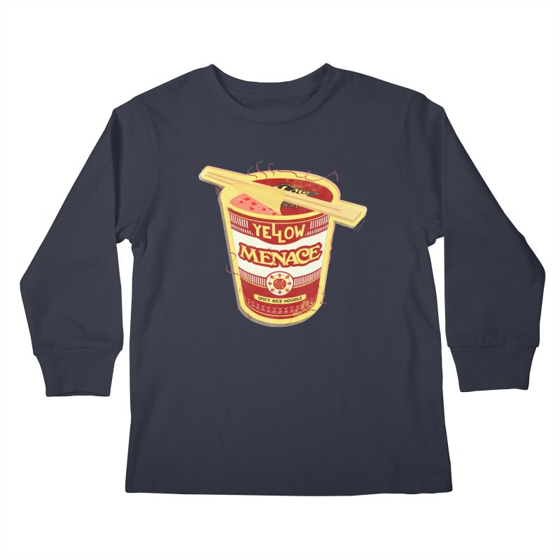 YM Cup Noodles: Campbells Kids Longsleeve T-Shirt by YellowMenace Shop