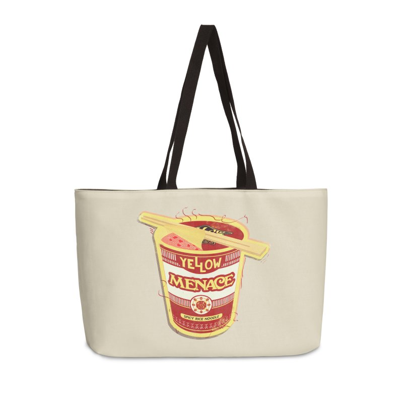 YM Cup Noodles: Campbells Accessories Weekender Bag Bag by YellowMenace Shop
